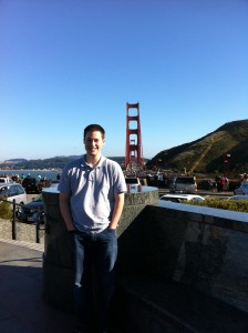 Major at the Golden Gate Bridge