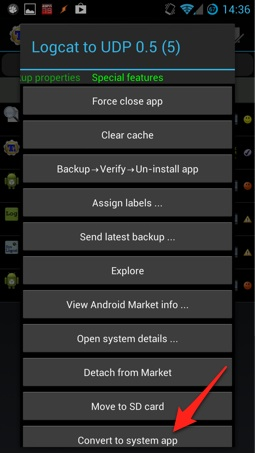Log Android events remotely to a syslog server · major io