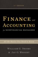 Finance And Accounting For Non Financial Managers