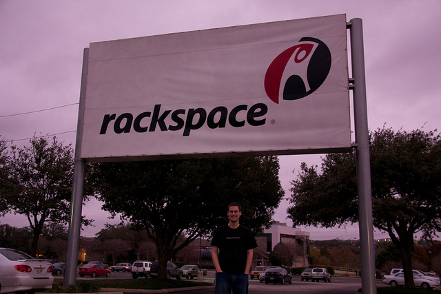 Rackspace Datapoint office sign