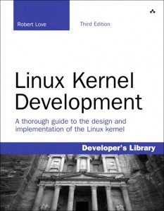 Linux Kernel Development book cover