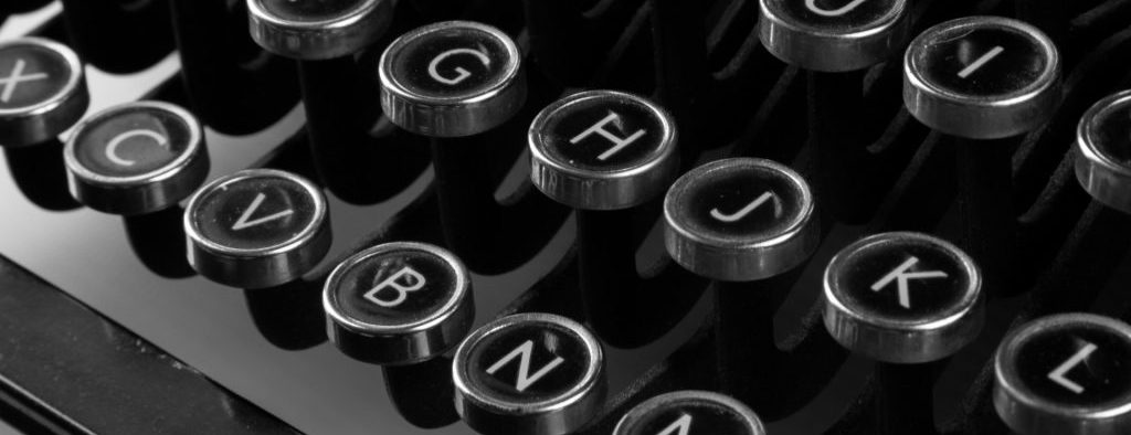 Blog typewriter