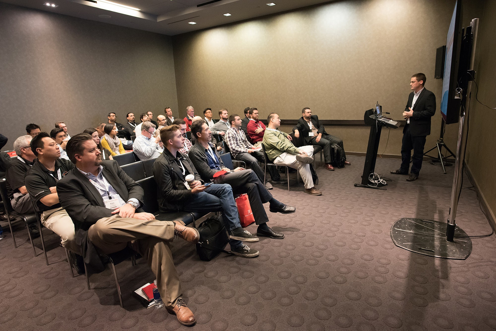 Talking at Rackspace::Solve in 2015